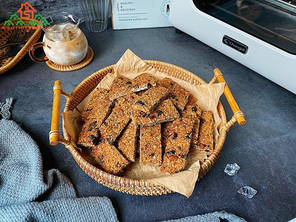 cách làm bánh ăn kiêng từ yến mạch