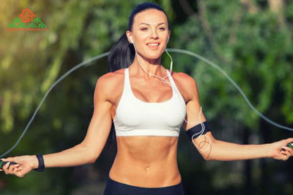 nhảy dây có tăng cân không