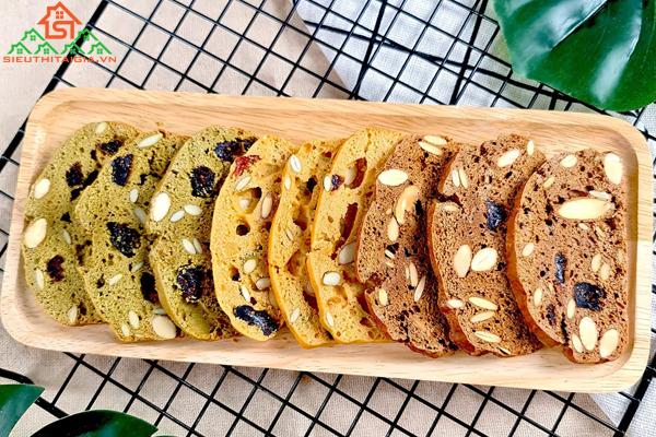 cách làm bánh biscotti ăn kiêng