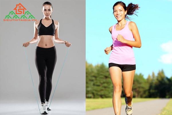 Giải đáp: Nhảy dây và chạy bộ cái nào tốt hơn?