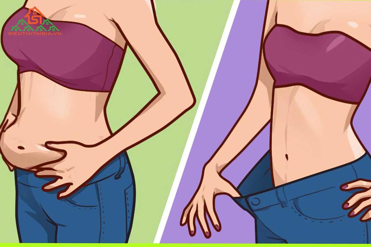 nịt bụng có giảm eo không