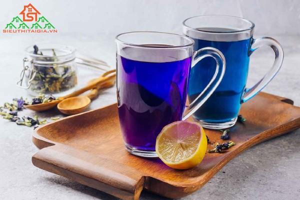 uống trà hoa đậu biếc đúng cách