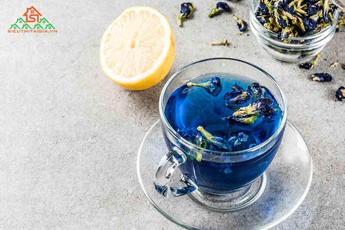 uống trà hoa đậu biếc mỗi ngày có tốt không