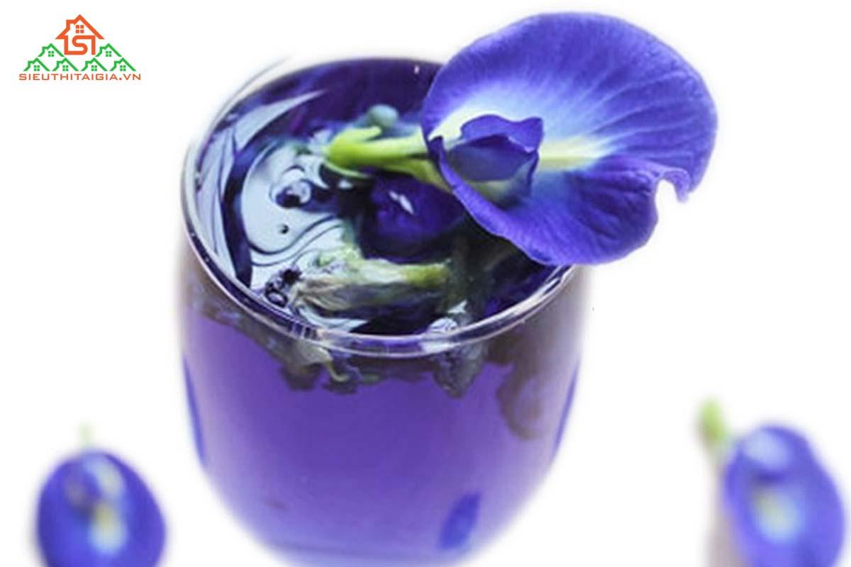 Hoa đậu biếc có tác hại gì
