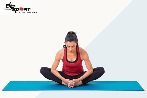 Bài tập yoga chữa đau khớp háng
