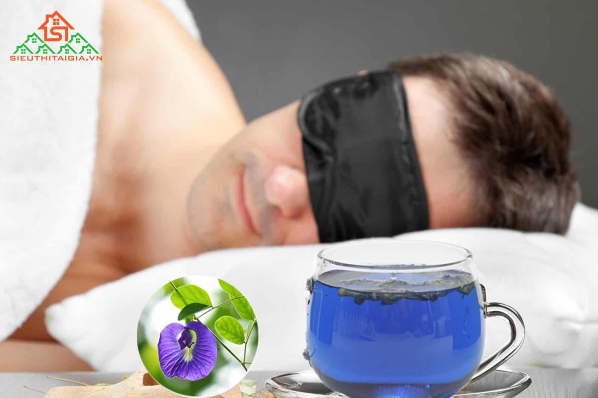 Hoa đậu biếc trị mất ngủ