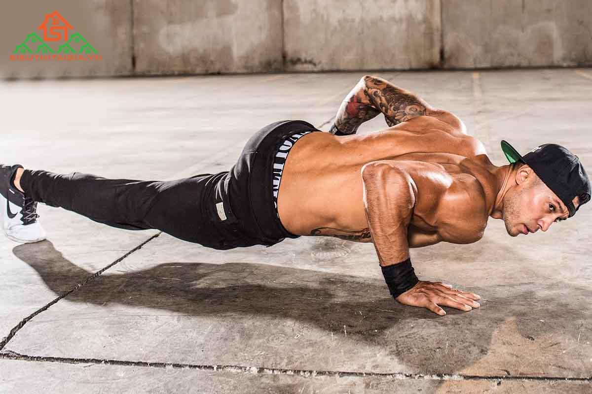 Hít đất có giảm mỡ bụng không