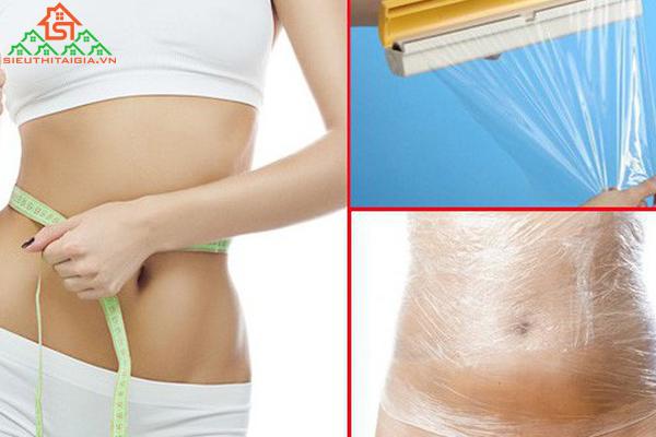 Cách nịt bụng bằng màng bọc thực phẩm giảm mỡ bụng hiệu quả - ảnh 2