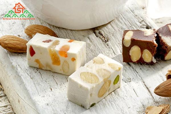 cách làm kẹo nougat ăn kiêng