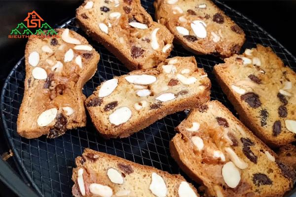 Cách làm bánh hạnh nhân ăn kiêng