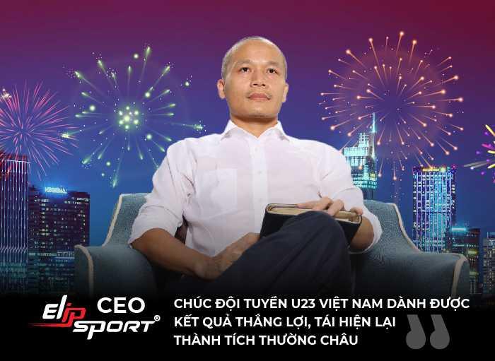 CEO Elipsport: Cơ hội vẫn còn, chúng ta hãy nghĩ một trận thắng tặng người hâm mộ dù có bị loại