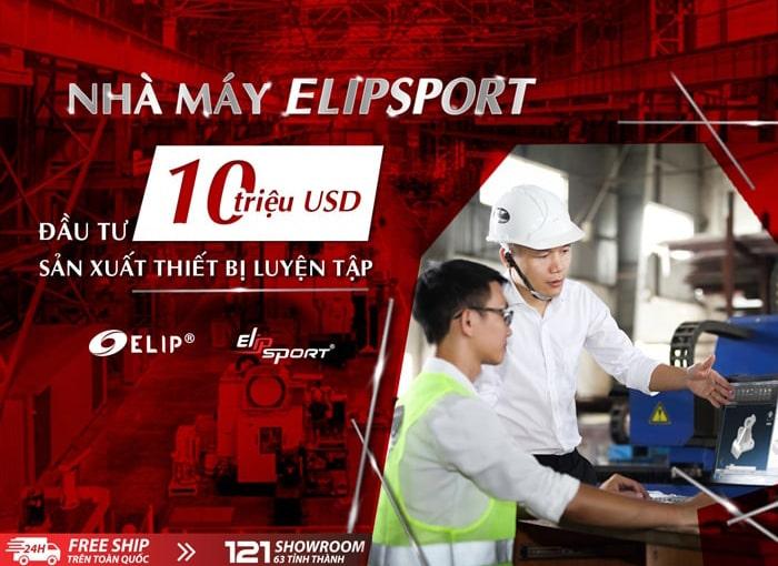 Elipsport cung cấp 1 triệu máy chạy bộ trả góp 0%, giao hàng miễn phí tại 121 showroom