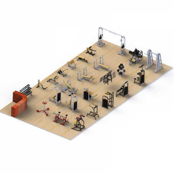 Phòng Gym Đồng Tháp 2