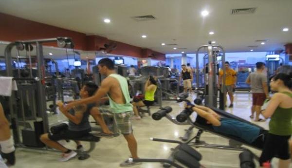 Phòng tập gym Tp.HCM