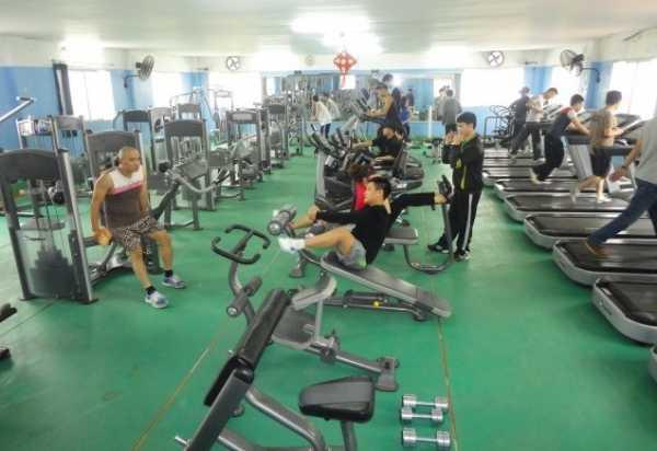 Phòng gym Vũng Tàu.