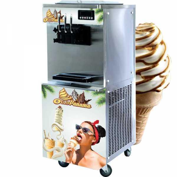Máy làm kem tươi Elip Panama-2 Lốc Piston