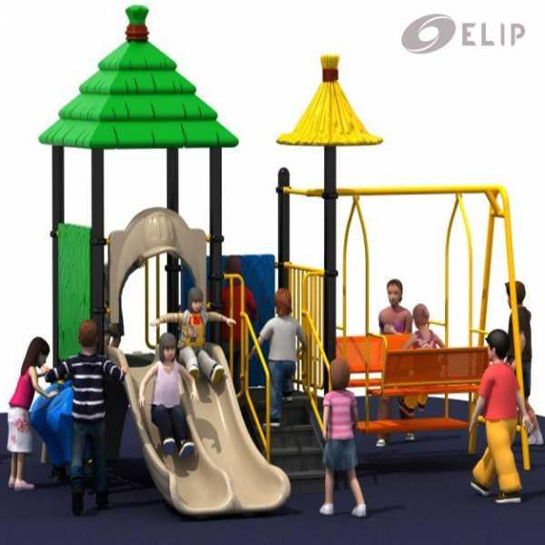 Cầu trượt liên hoàn Elip - K