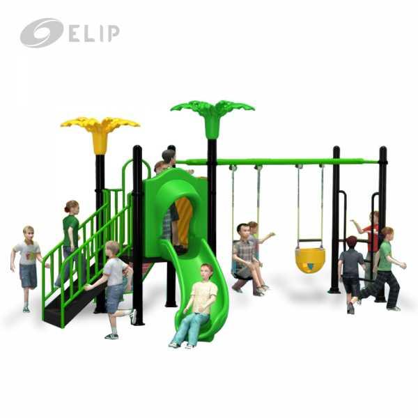 Cầu trượt liên hoàn Elip - D