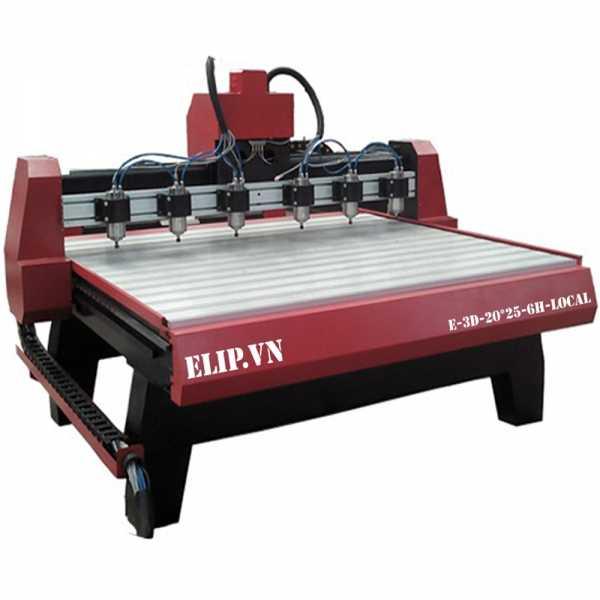 Máy phay gỗ ELIP-Local E-3D-20*25-6H