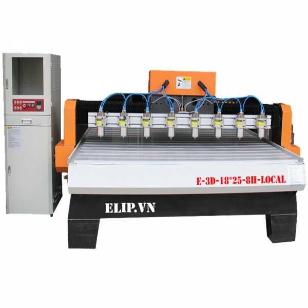 Máy phay gỗ ELIP-Local E-3D-22*18-8H