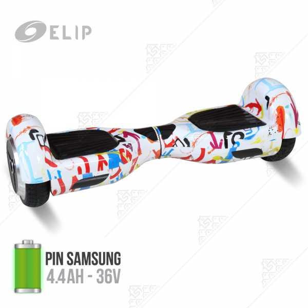 Ảnh sản phẩm Xe Điện Tự Cân Bằng Elip Style - Pin Samsung - White