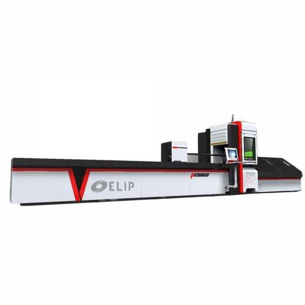 Máy Cắt CNC Laser Fiber Kim Loại Ống Elip-500W