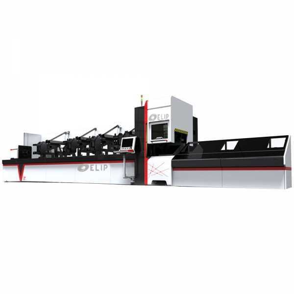 Máy Cắt CNC Laser Fiber Kim Loại Ống Elip-Auto-3000W