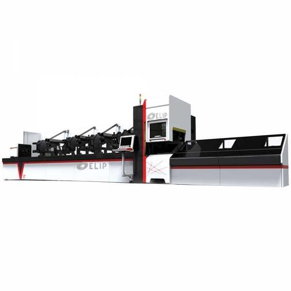Máy Cắt CNC Laser Fiber Kim Loại Ống Elip-Auto-700W