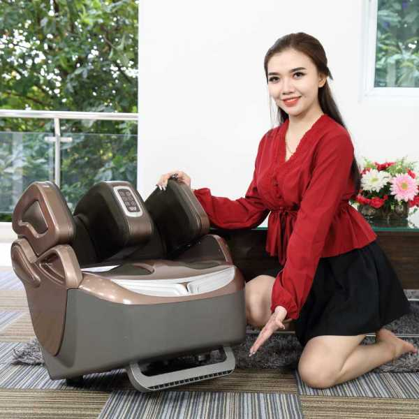 Máy massage chân Elip Plutoni
