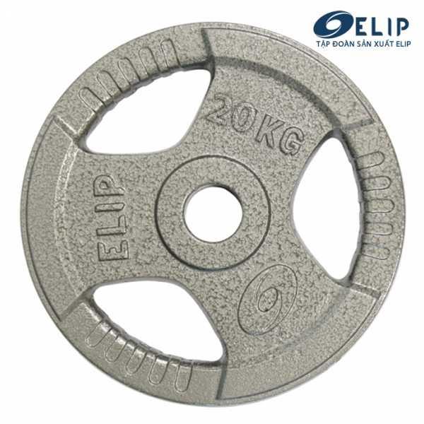 Ảnh sản phẩm Tạ Gang Elip Rubic Phi 50-20Kg