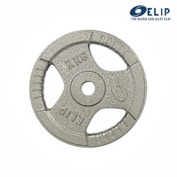 Tạ Gang Elip Rubic Phi 28-2Kg