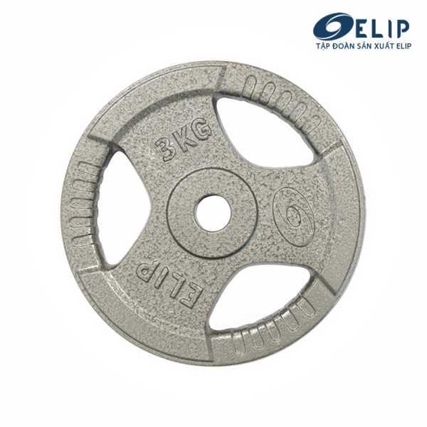Tạ Gang Elip Rubic Phi 28-3Kg