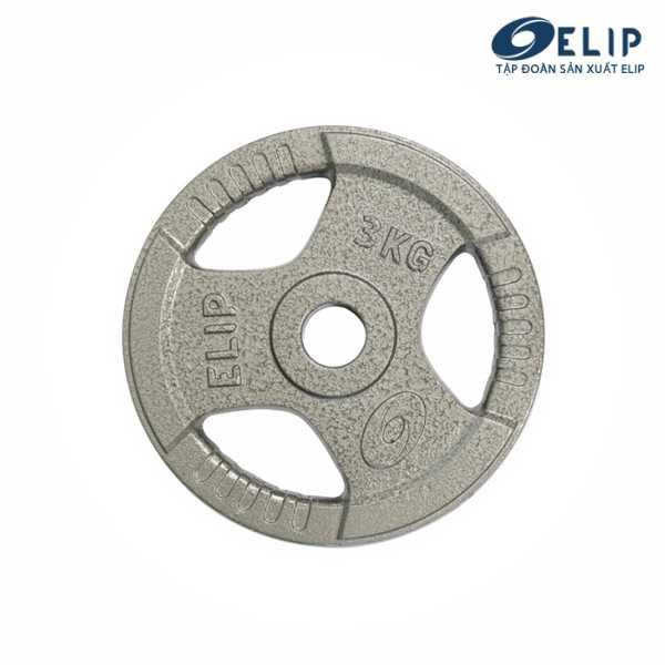 Tạ Gang Elip Rubic Phi 50-3Kg