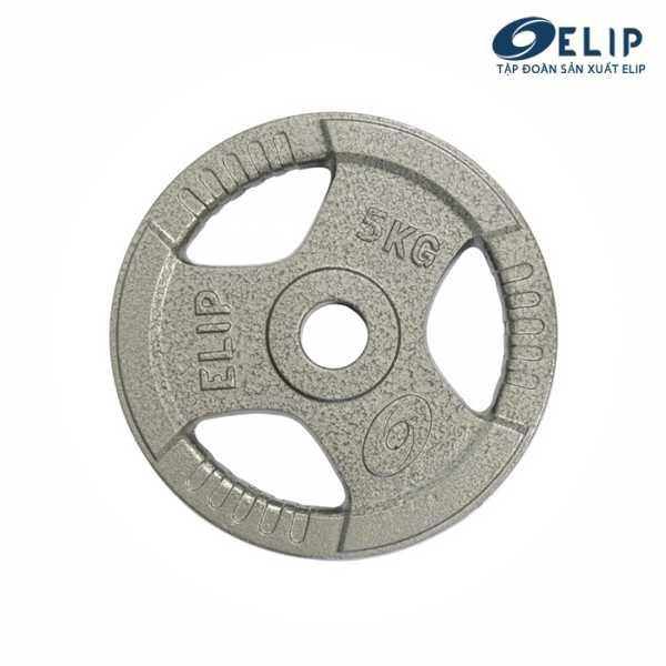 Tạ Gang Elip Rubic Phi 50-5Kg