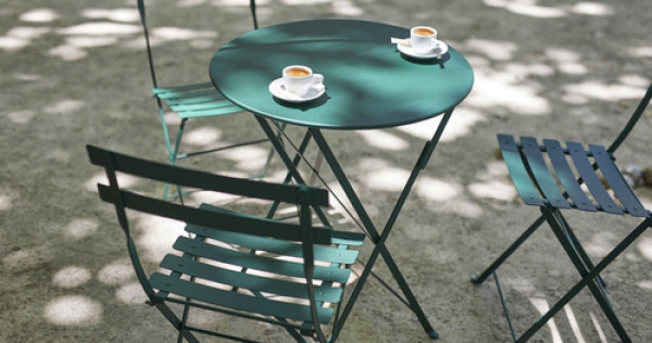 Bộ bàn ghế ăn tròn Bistro