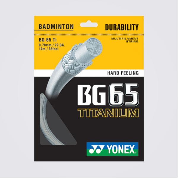 Cước Đan Yonex String BG65 Titanium