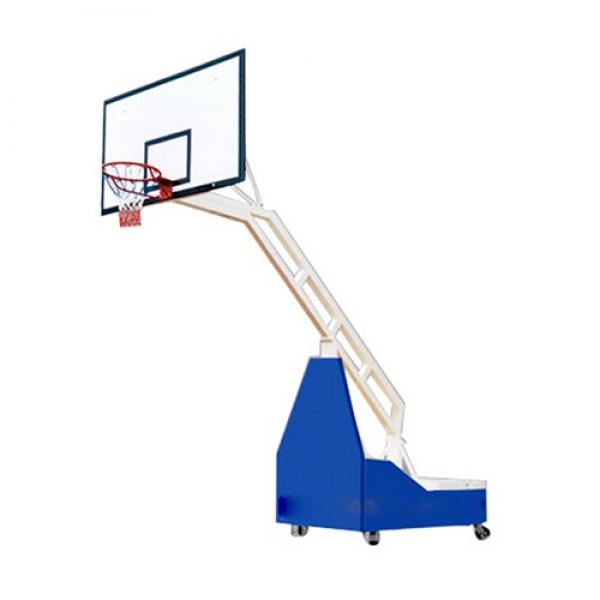 Trụ bóng rổ di động-xếp Elip ED04