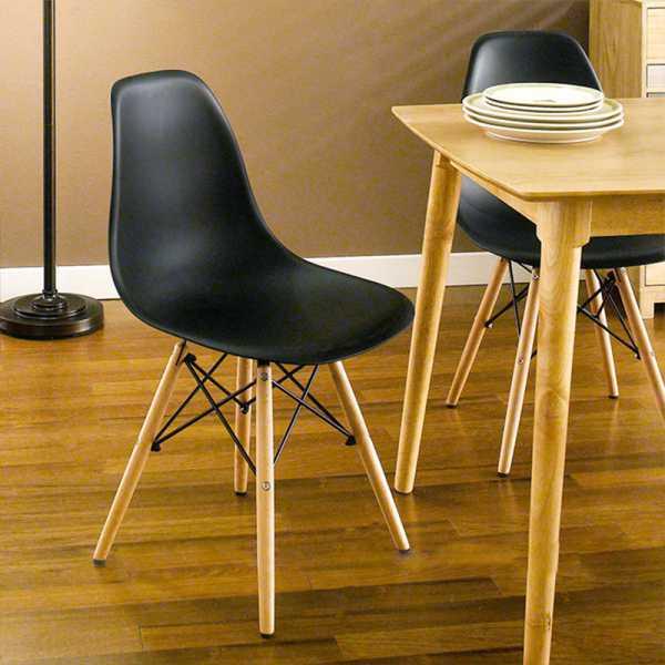 Bộ bàn ăn 4 ghế Elip Eames