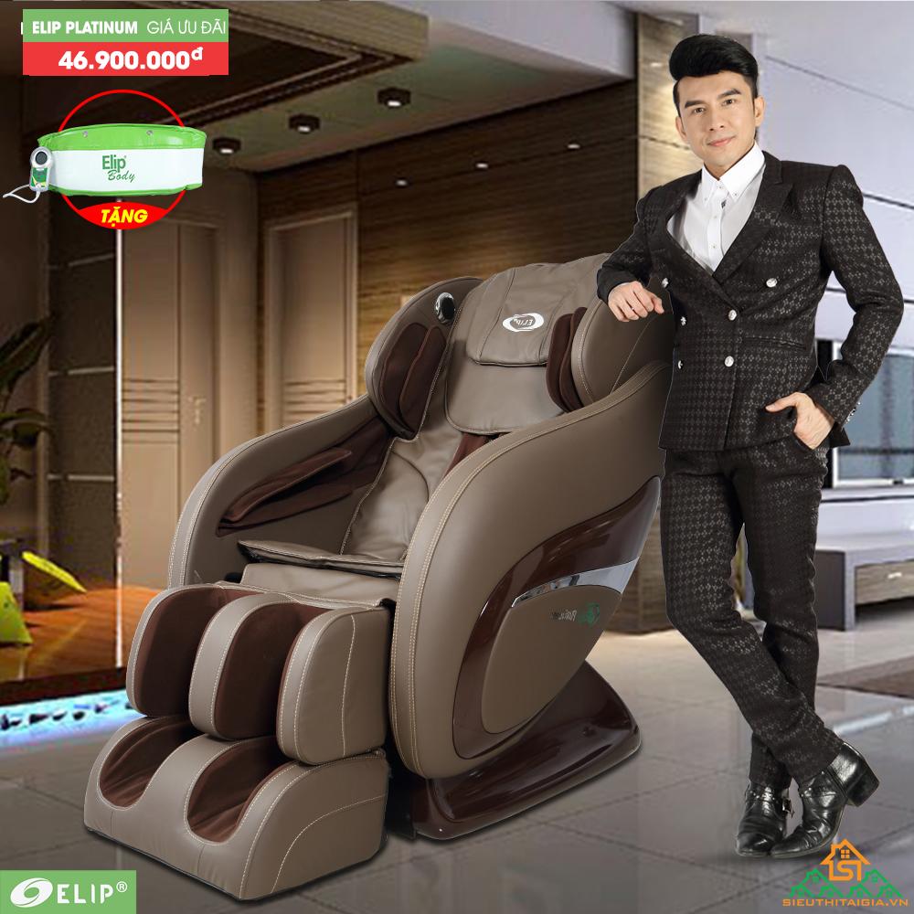 Trải nghiệm cùng anh Bo công nghệ nổi bật của ghế massage Elip