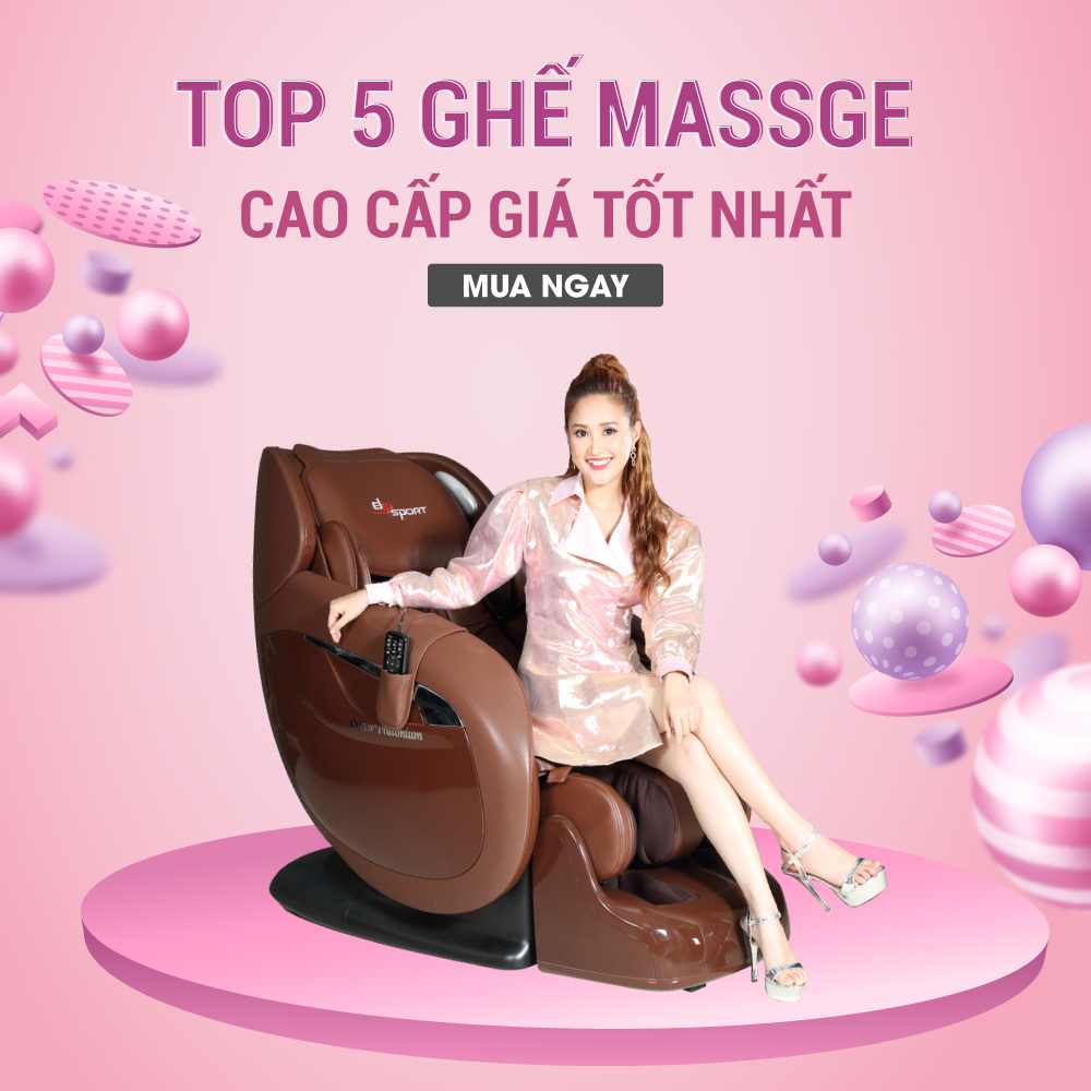 Top 5 ghế massage cao cấp giá tốt nhất nên mua cho gia đình - ảnh 1