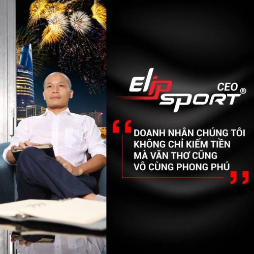 CEO Elipsport – Không Chỉ Biết Kiếm Tiền Mà Văn Thơ Vô Cùng Phong Phú