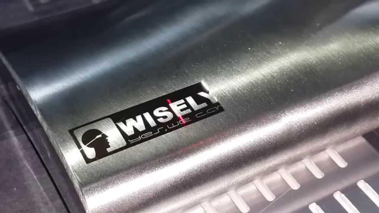 Khắc laser kim loại- inox