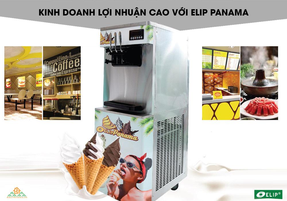 giới thiệu máy làm kem tươi Elip Panama