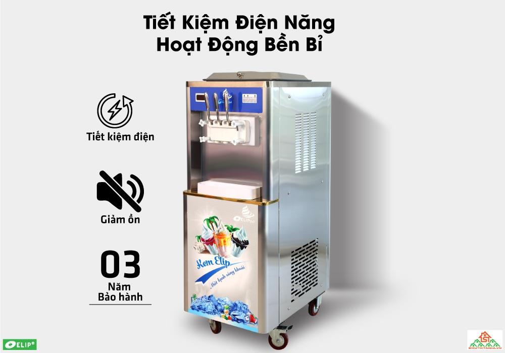 ưu điểm máy làm kem tươi Elip Ytali