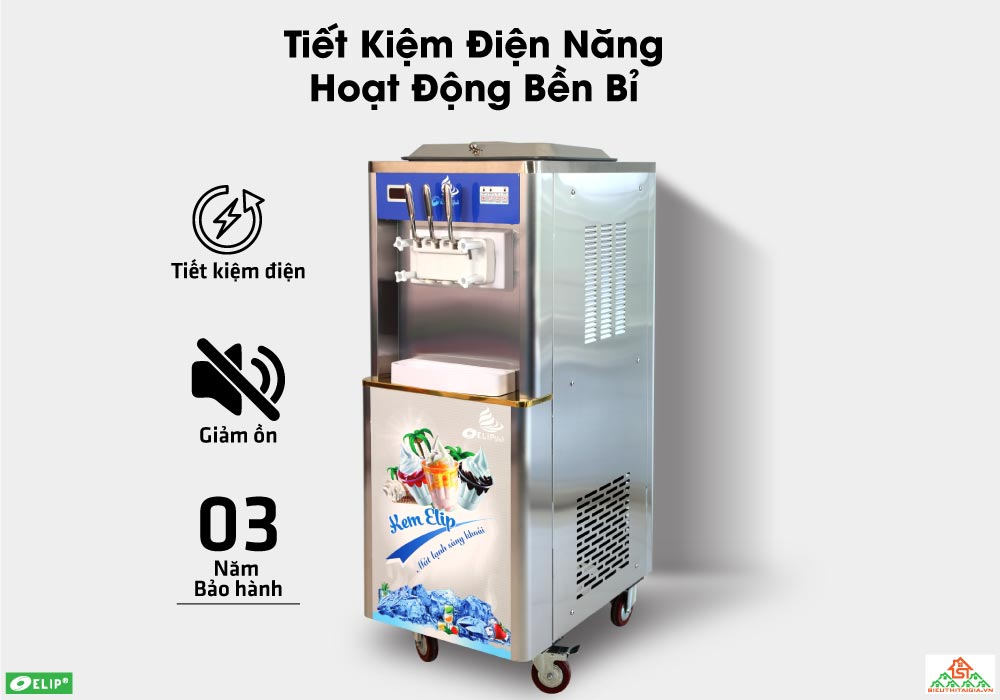 mua máy làm kem trả góp