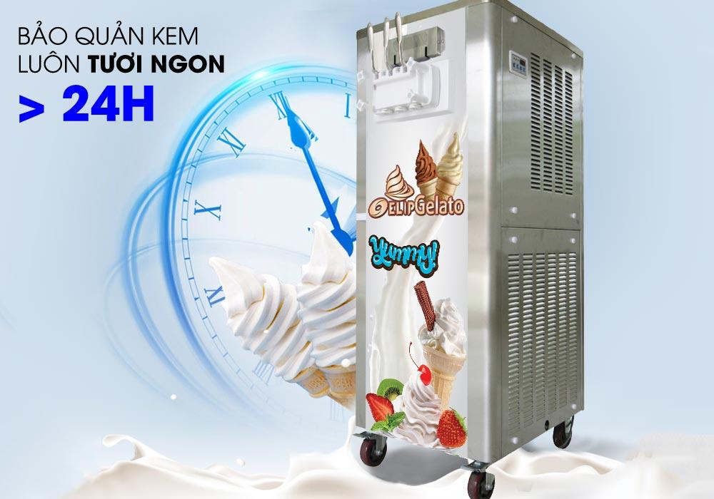 máy làm kem gelato