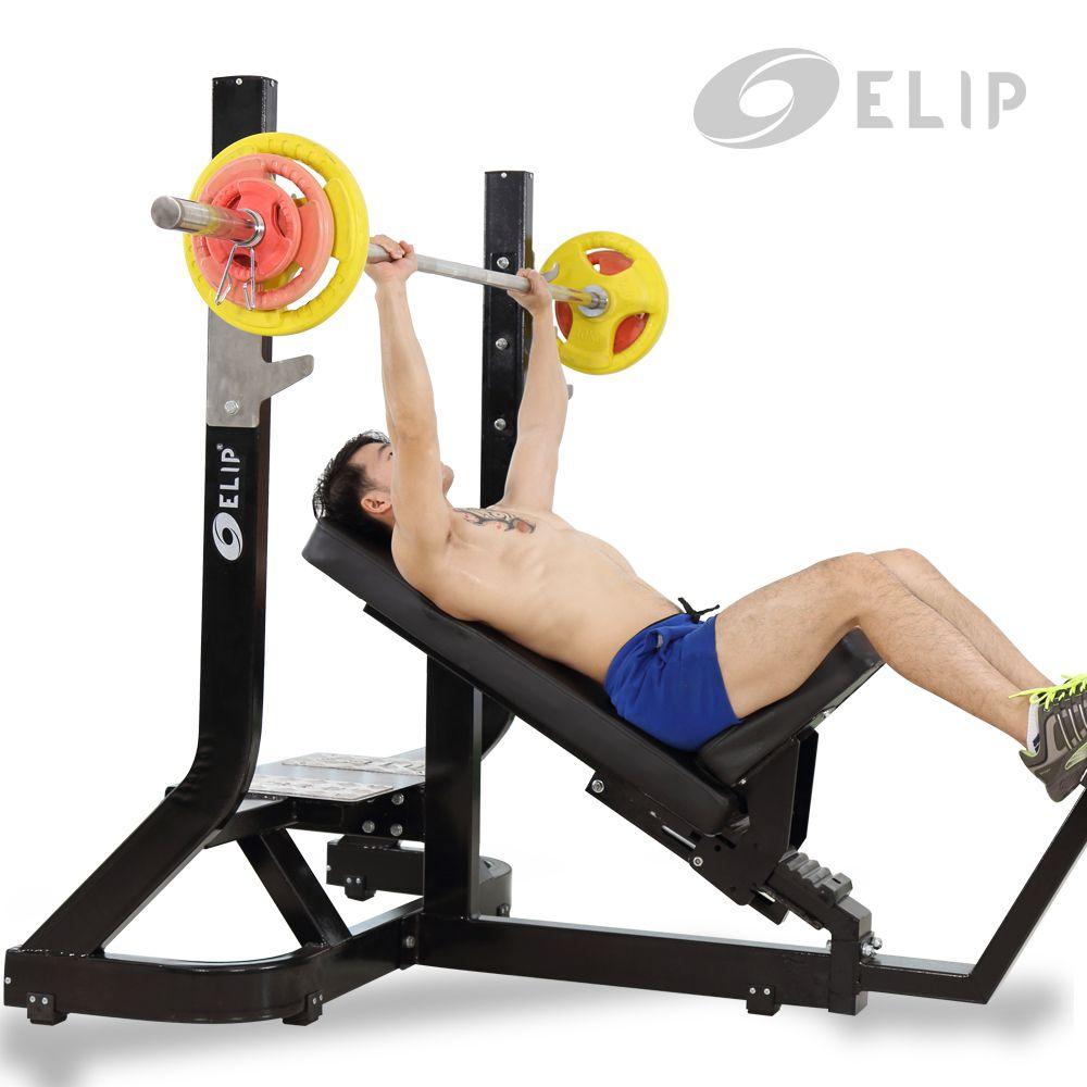 Ghế đẩy ngực trên Elip OLY101 - ảnh 1