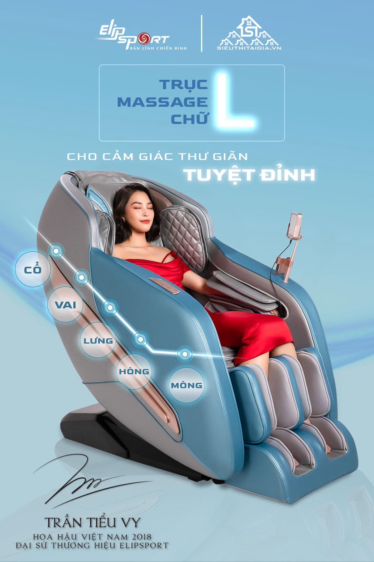 ghế massage ELIP Elysisum