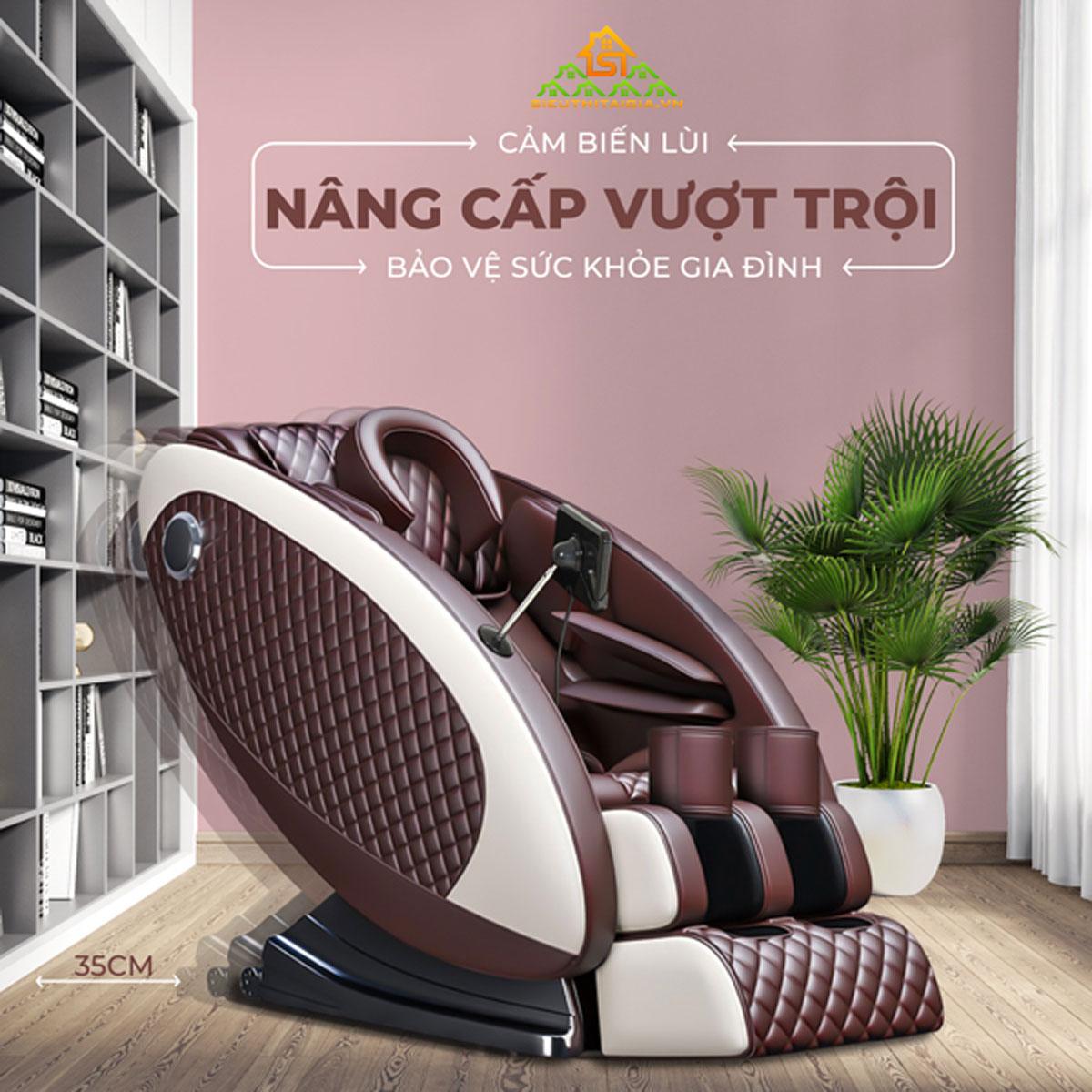 Ghế massage elip Watson pro