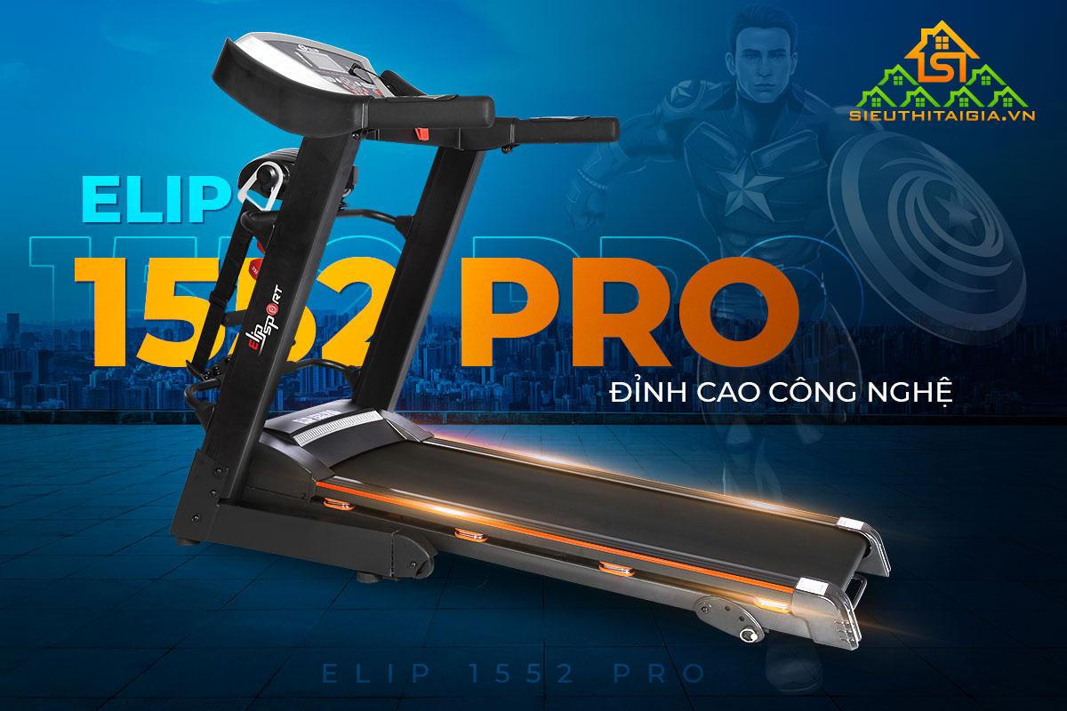 máy chạy bộ điện ELIP 1552 Pro
